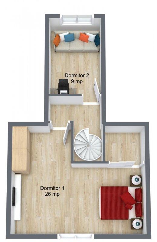Duplex 3 camere I Brâncoveanu I stradal  10