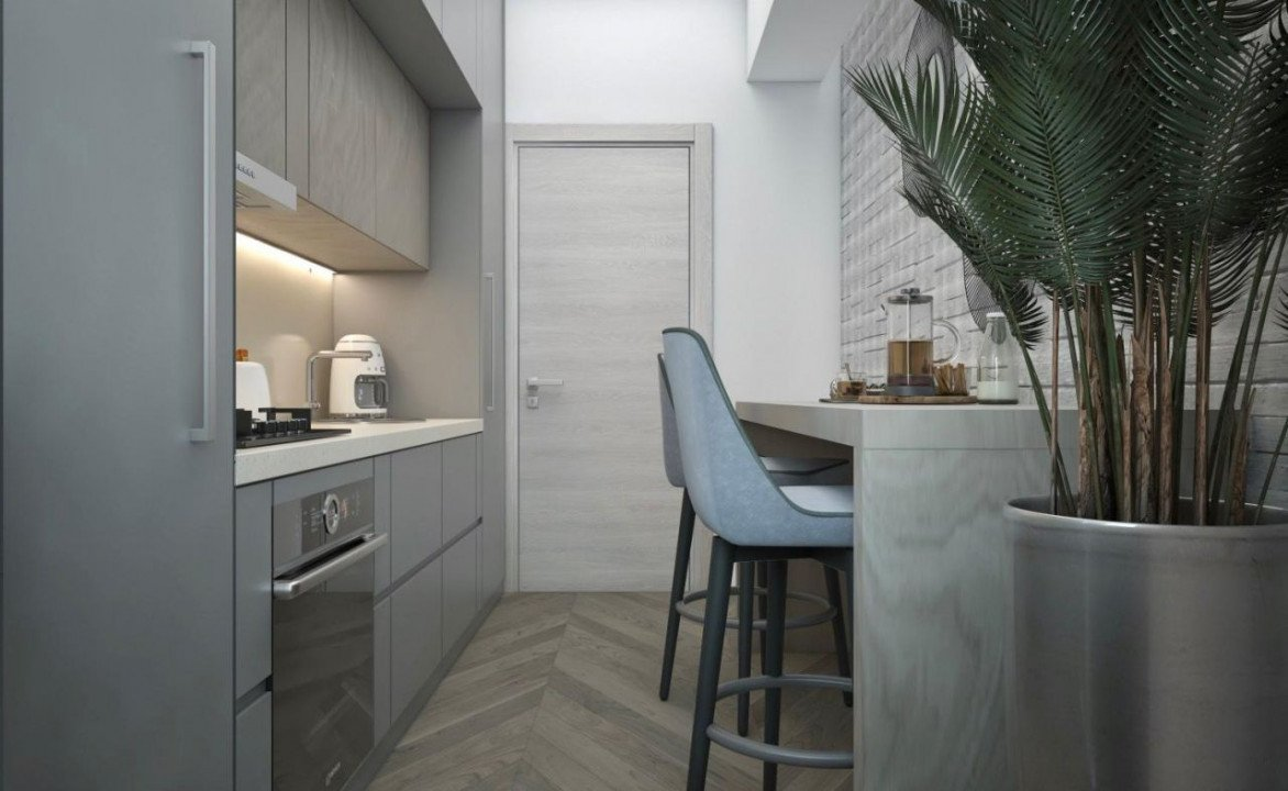 DIRECT DEZVOLTATOR! TOMIS NORD -2 camere TIP 2 in Perpetum Residence II  8