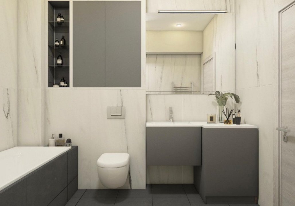 DIRECT DEZVOLTATOR! TOMIS NORD -2 camere TIP 2 in Perpetum Residence II  11