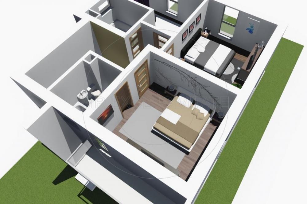 Casa Mediteraneana 4 camere + Garaj Pitesti 7