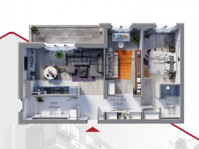 Apartament nou finisat la cheie Tomis Plus